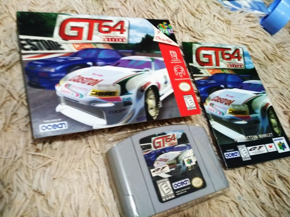 Gt 64 Championship Edition Com Caixa E Manual Nintendo 64