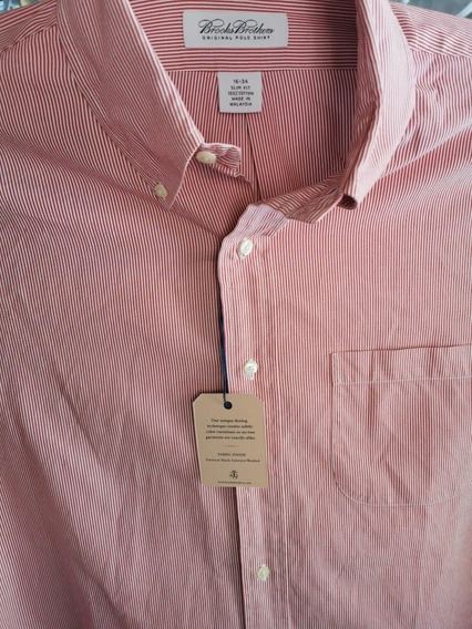 Camisa Brooks Brothers 16-34 Slim F. (no Polo, Gap)