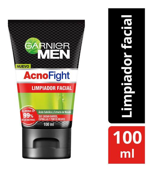 Limpiador Facial Anti-acné Garnier Men Acno Fight 100ml