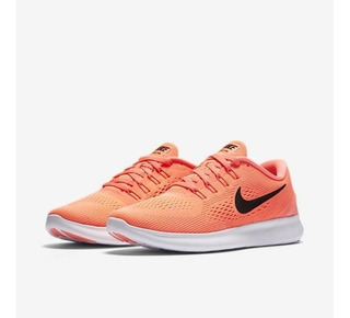 Zapatillas Nike Free Rn Rosa Mujer