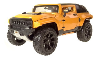 Miniatura Hummer Hx Concept Laranja All Stars Maisto 1/24