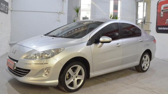 Peugeot 408 Feline 2.0n Gnc 2012 Gris En Muy Buen Estado!