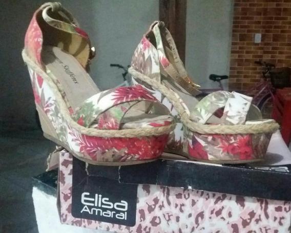 Sapato Feminino Plataforma Elisa Amaral