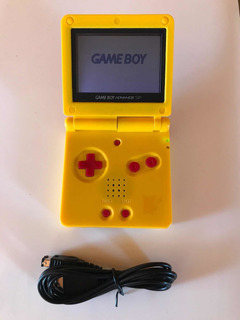 Consola Gameboy Advance 001 Edición Pikachu Gba Sp G001