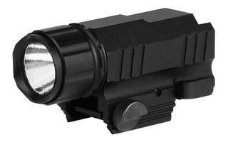 Lanterna Tática Para Trilho Picatinny 20mm Nautika Taclite