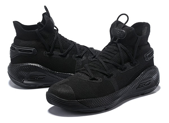 Tênis Under Armour Curry 6 Triple Black#promoção