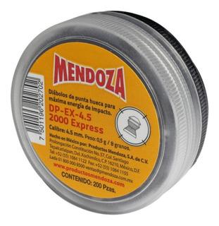 Diábolo 2000 Express Calibre 4.5 Estuche 200 Piezas Mendoza
