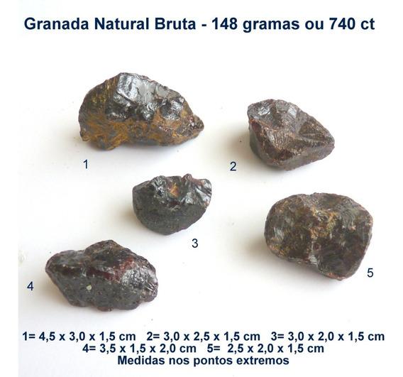 Granada Pedra Preciosa Natural Bruta Preço Do Lote 5355