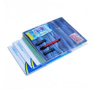 Kit Universitario Folder Jean Book Y Portaminas Y Repuestos