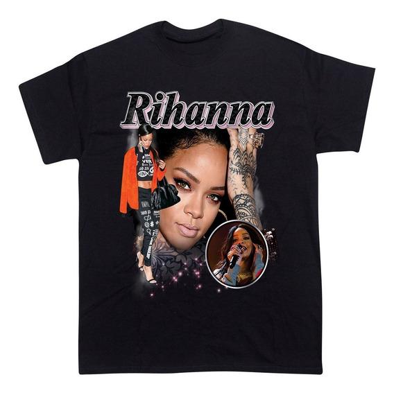 Remera Rihanna Pop Musica, Rap, Hip Hop, Trap, Pop, Musica