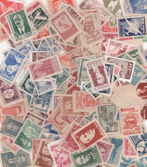 140 Selos Novos Comemorativos Anos 50 - 189