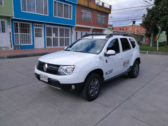 Renault Duster Placa Blanca 2020 Full Equipo Con Trabajo