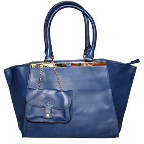 Bolsa Satchel Azul