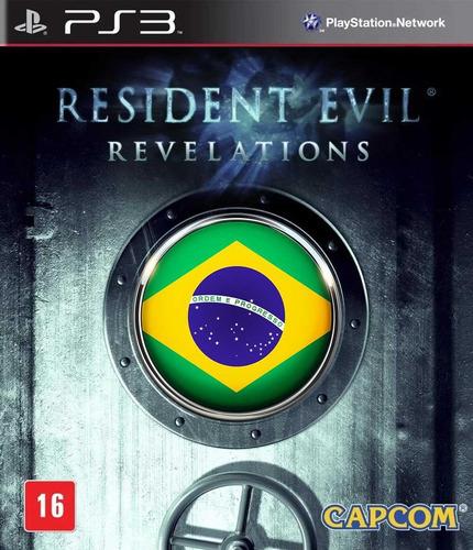 Resident Evil Revelations Ps3 Psn Original Legen. Português