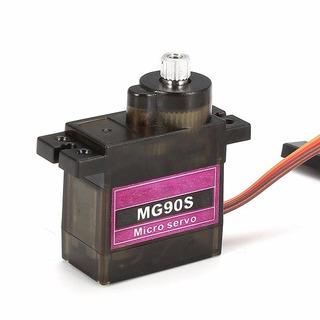 Microservomotor Mg90s Metal Para Modelos A Radiocontrol