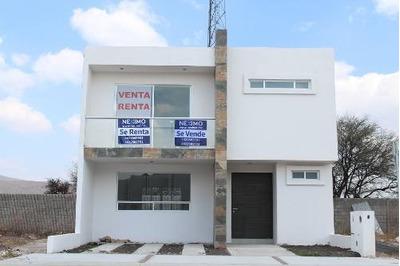 Casa Nueva En Renta O Venta, Arroyo Seco, Querétaro