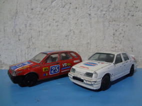 Lote Carrinho Burago Fiat Tipo / Ford Sierra 1:43 Made Italy