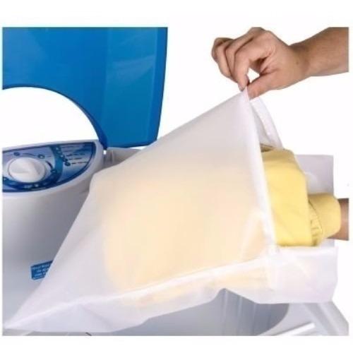 Kit 4 Sacos Para Lavar Roupas Bag Limp P-m-g-gg