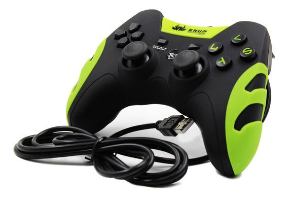 Controle Com Fio 4 Em 1 Pc/ps3 Kp-4040