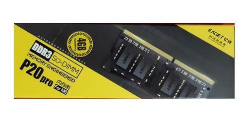 Memoria Ram Para Lapto 8gb Ddr3 P20pro 1600 Mhz Marca Eaget