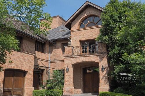 Imagen 1 de 30 de Casa De 4 Dormitorios En Altos De La Horqueta, Excelente Construcción