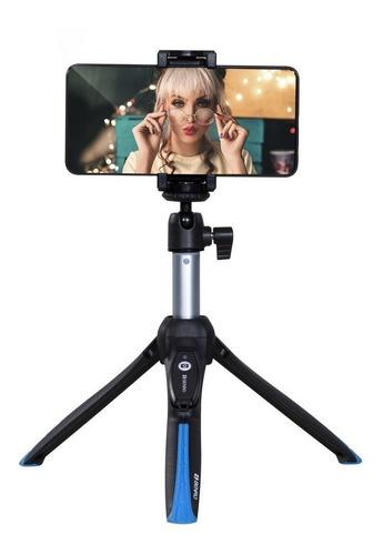 Mini-tripé Bluetooth Bastão Pau De Selfie Stick Benro Bk15