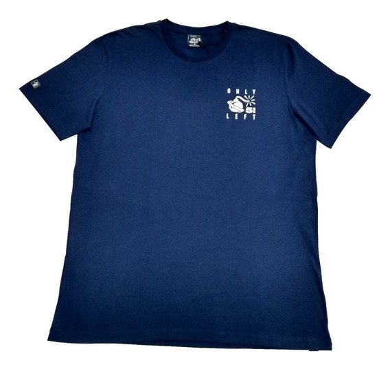 Camiseta Lost Last Five Original Azul Marinho Frete Grátis G