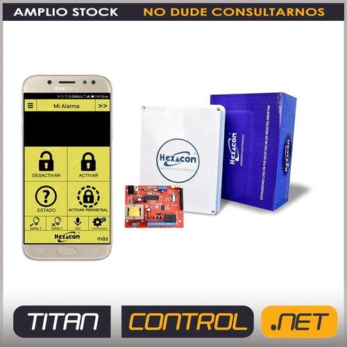 Central Alarma H210 Inalambrica Monitoreo Hexacom