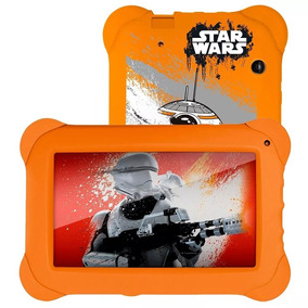 Tablet Disney Star Wars Wifi Dual Cam 8gb Multilaser Nb238