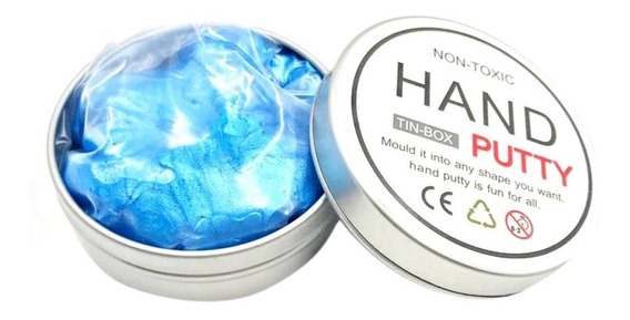 Argila Barro De Vidro Plástico Slime Diy Lama De Cristal Jog