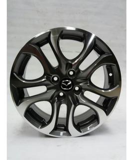 Rin Crw 16 Pulgadas 4 Huecos Medida 100 Mazda 2