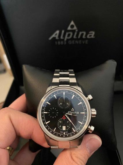 Relógio Alpina Pilot 42mm Calibre 7750 Automático Iwc