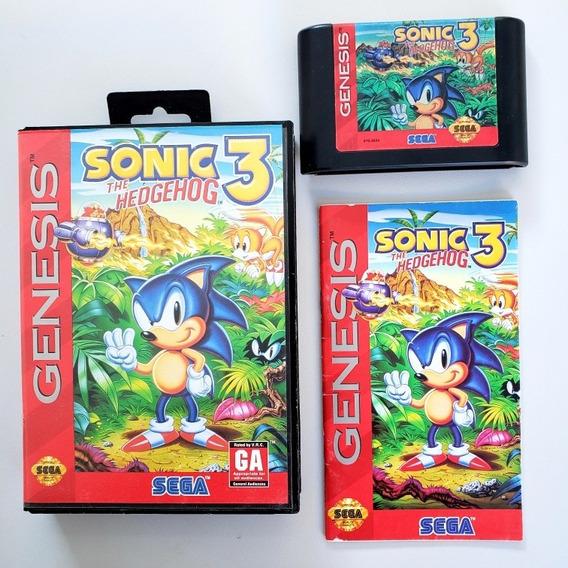 Sonic 3 Original Mega Drive Sega Genesis