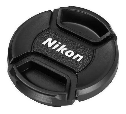 Imagen 1 de 3 de Tapa Lente Nikon 49mm 52mm 55mm 58mm 62mm 67mm 72mm 77mm 82m