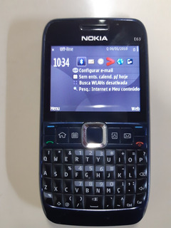 Celular Nokia E63 Eseries Operadora Vivo Sem Acessórios
