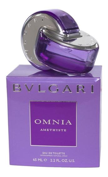 Perfume Bulgari Omnia Amethyste 65ml Edt Original