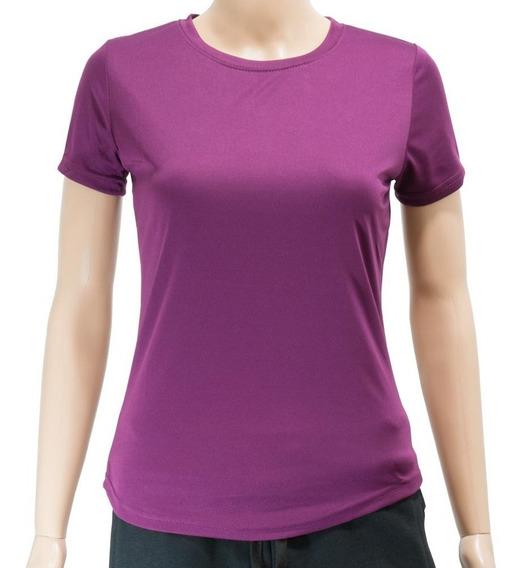 Camiseta Dry Fit Dama Lisa S Al Xxl Excelente Calidad