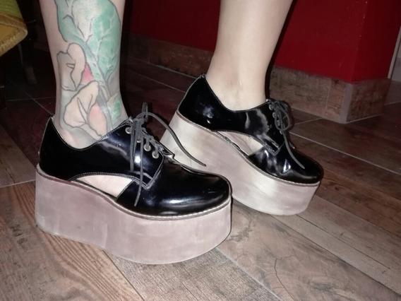 Zapato Acordinado Mocasin Alto