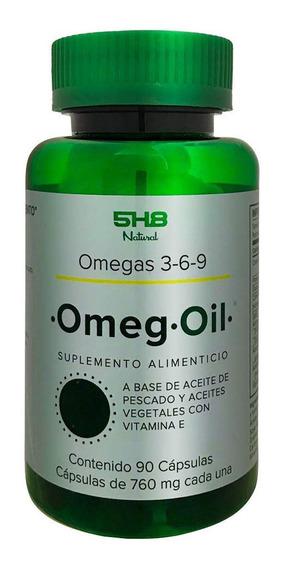 Omegas 3-6-9 5h8 Omeg Oil 90 Capsulas