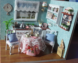 Diy Dollhouse Happy Kitchen Completamente Armada