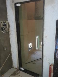 Porta Pivotante Blindex Vidro Verde 80x210