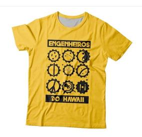 Camiseta Engenheiros Do Hawaii Alívio Imediato Estampa Total