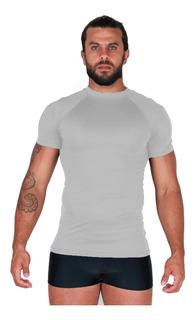 Camisa Térmica Segunda Pele Praia Uv Compressão Curta 038