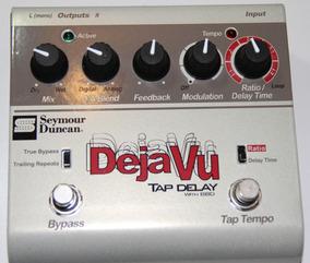 Pedal Seymour Duncan Tap Delay Na Caixa Com Tags