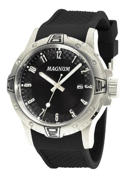 Relógio Masculino Magnum Analógico Ma34414t - Prata