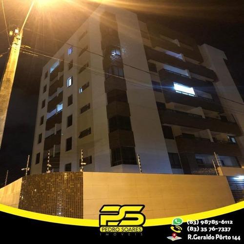 Apartamento Com 3 Dormitórios À Venda, 87 M² Por R$ 330.000 - Aeroclube - João Pessoa/pb - Ap2341