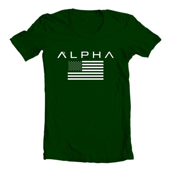 Camiseta Camisa Academia Treino Musculação Alpha Fitness