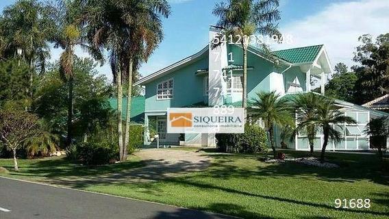 Casa Residencial À Venda, Condomínio Lago Azul, Araçoiaba Da Serra. - Ca0598