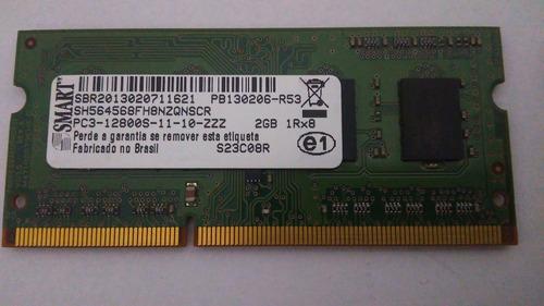 Memória Notebook Smart Ddr3 2gb Pc3 12800s(dell, Hp, Lenovo)