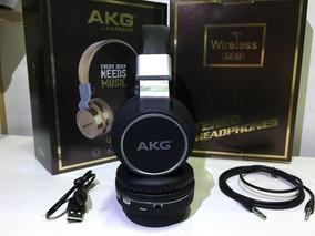 Fone Bluetooth Headphone Akg By Harman Az-05 Profissional
